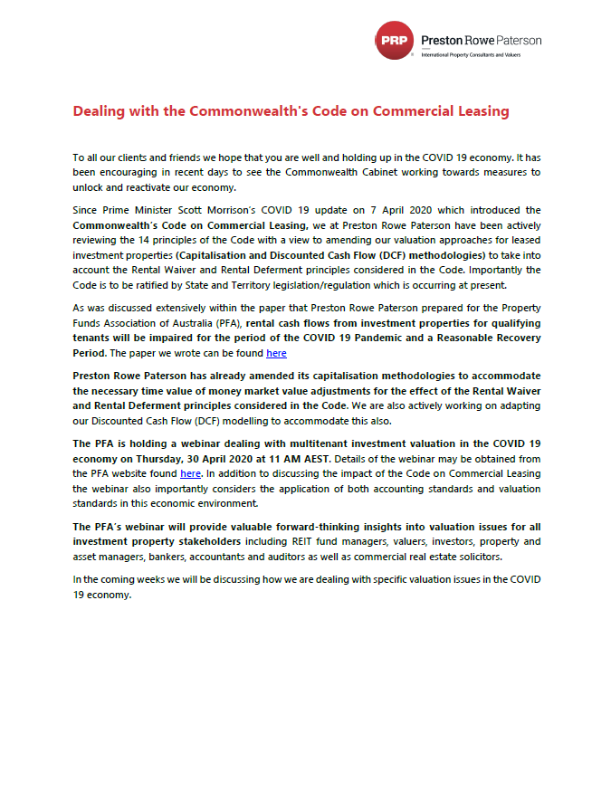 Dealing with the Commonwealth's Code on Commercial Leasing