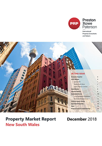 NSW Property Market Report December 2018