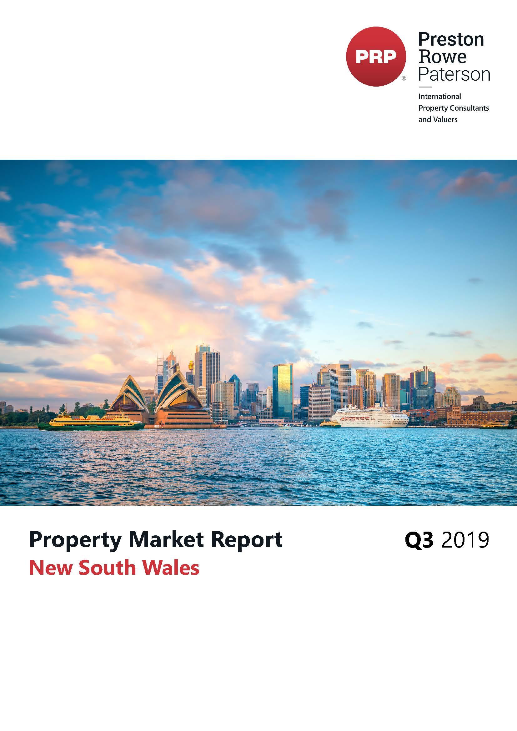 NSW Property Market Report Q3 2019
