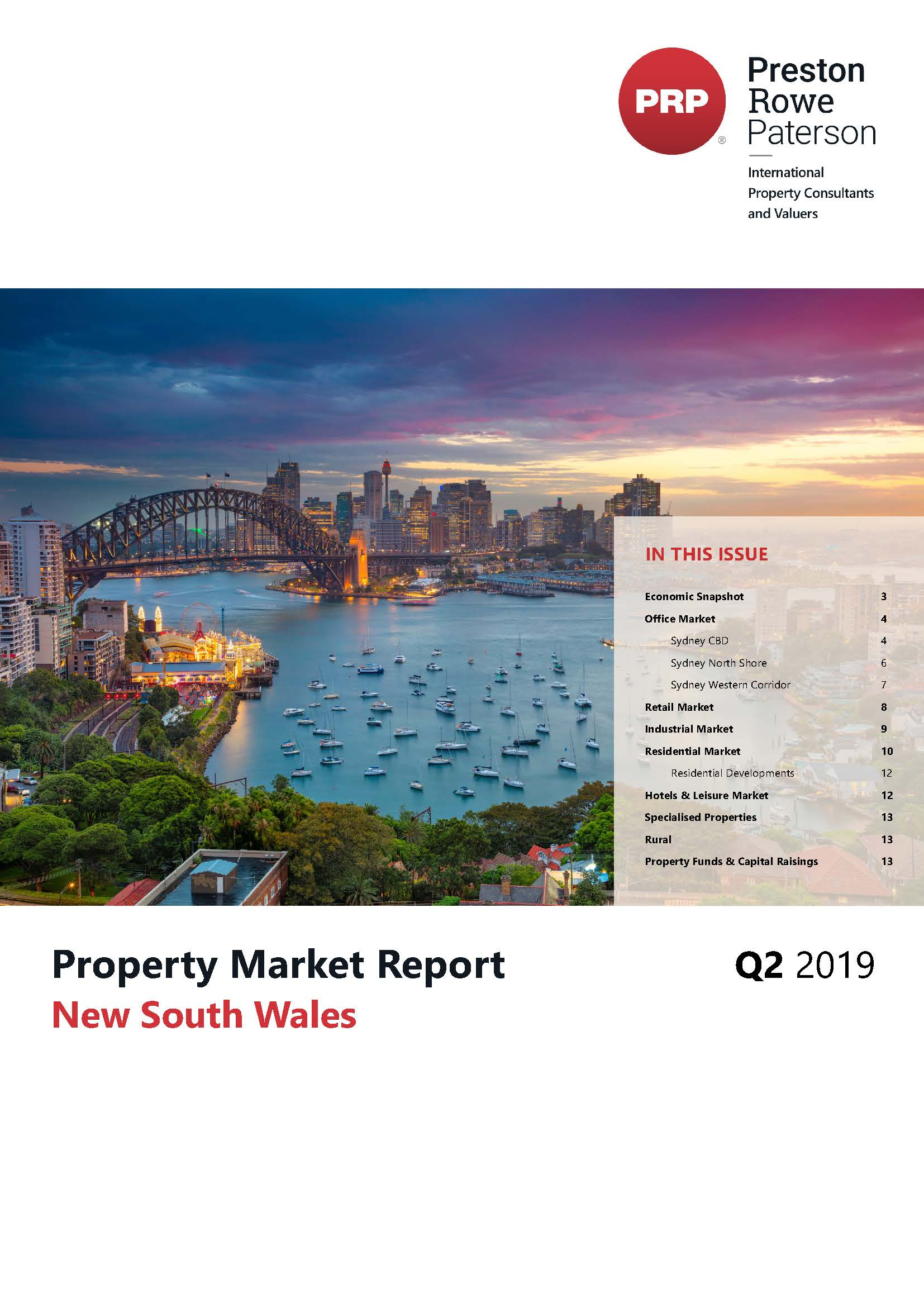 NSW Property Market Report Q2 2019