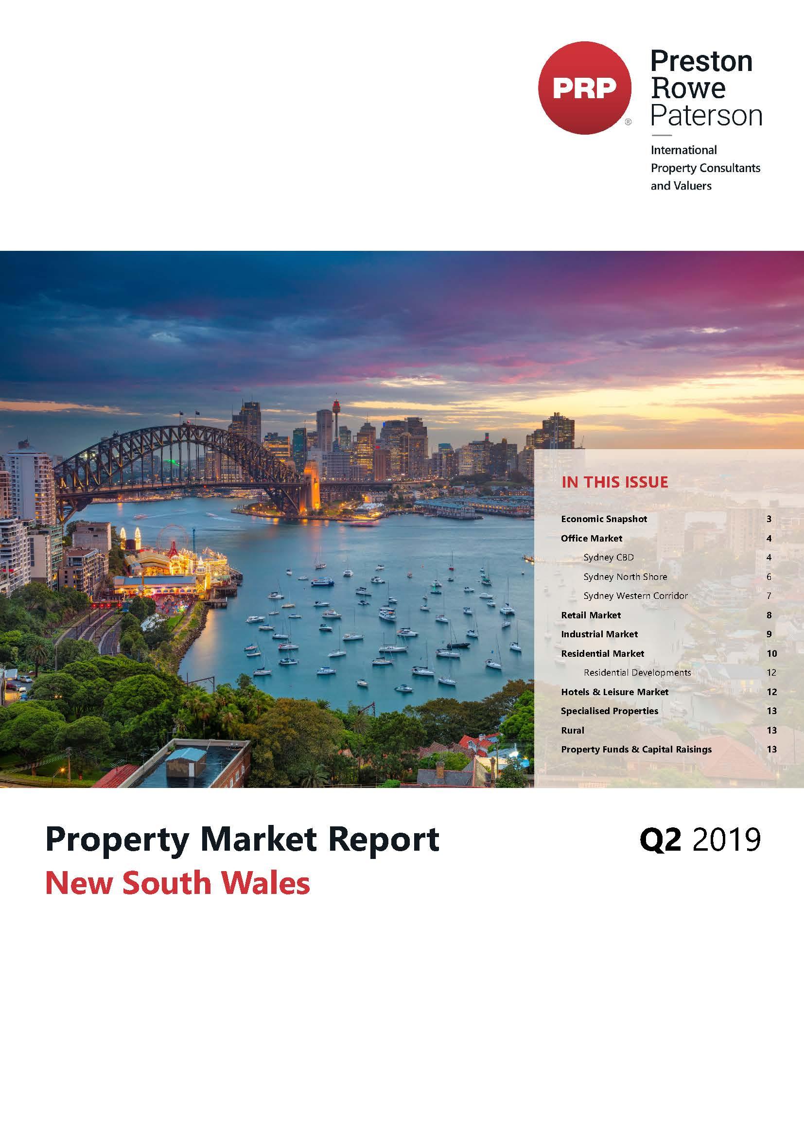 NSW Property Market Report Q2 2019