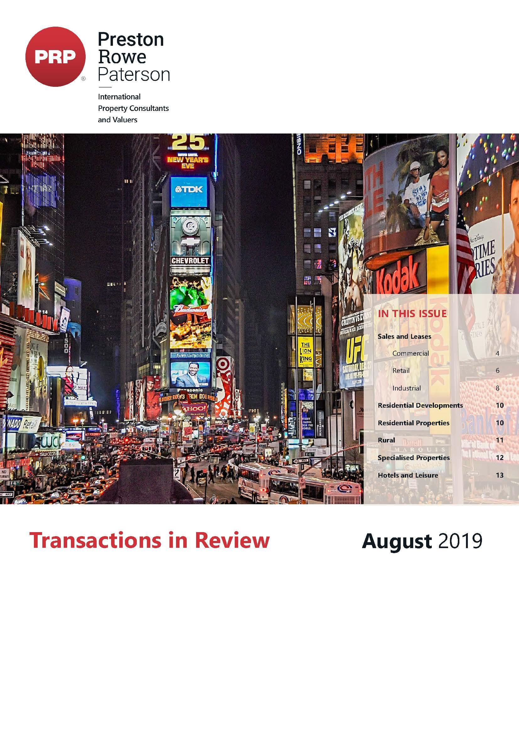 TIR August 2019