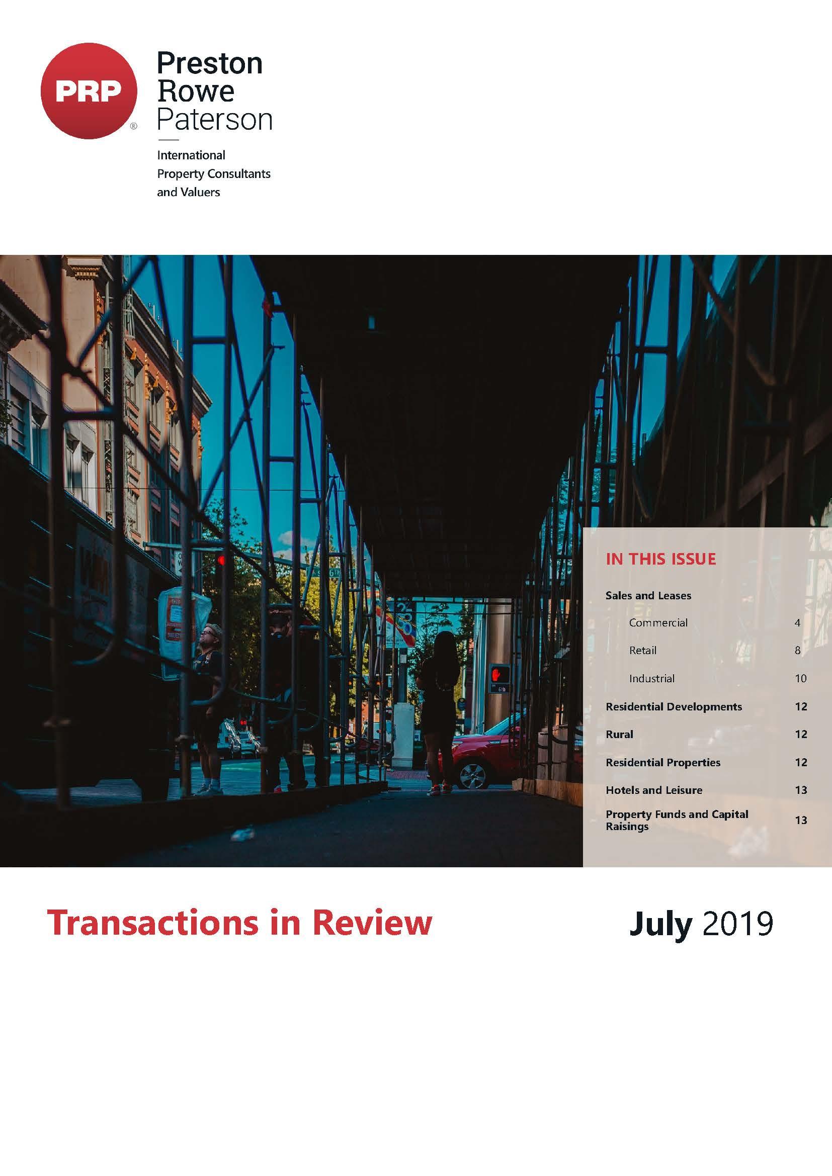 TIR July 2019