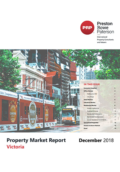 VIC Property Market Report December 2018