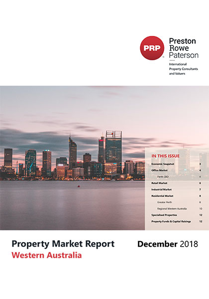 WA Property Market Report Dec 2018