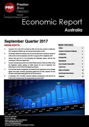Economic Report September 2017