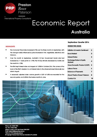 Economic Report September 2016
