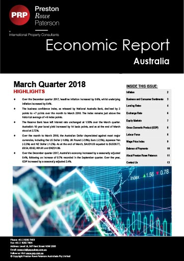 Economic Report March 2018