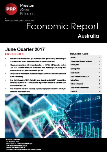 Economic Report June 2017