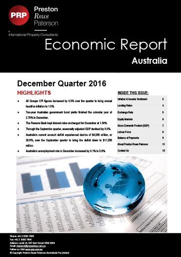 Economic Report December 2016